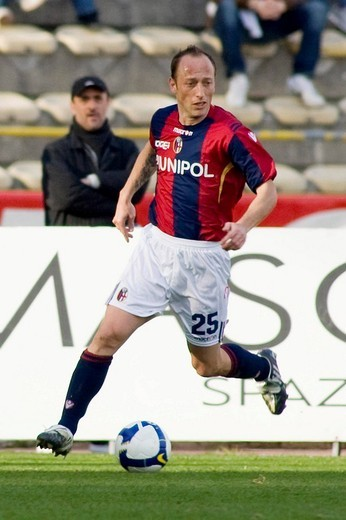 massimo mutarelli, bologna 2009, serie a football champiosnhip 2008/2009, bologna_sampdoria : Stock Photo