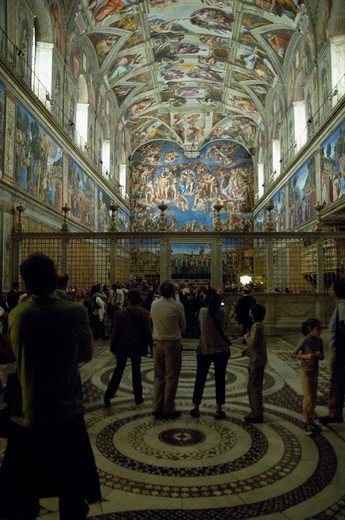 Stock Photo: 3153-674583 raphael rooms, vatican museums, rome, lazio, italy