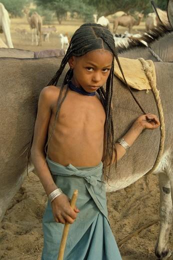 Stock Photo: 3153-675161 niger, agadez, tuareg land