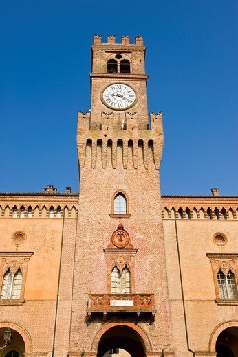 Stock Photo: 3153-678535 rocca pallavicino, busseto, emilia romagna, italia