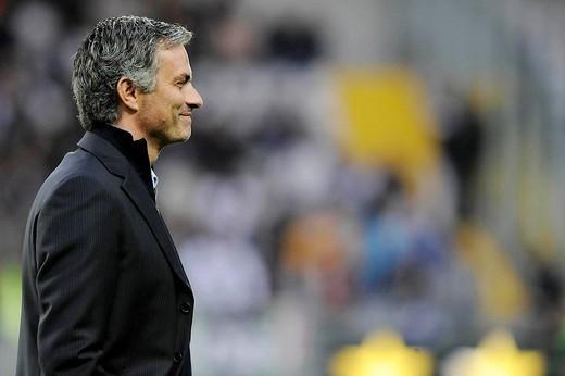 Stock Photo: 3153-680316 josè mourinho inter trainer,torino 2009, serie a football championship 2008_2009, juventus_inter