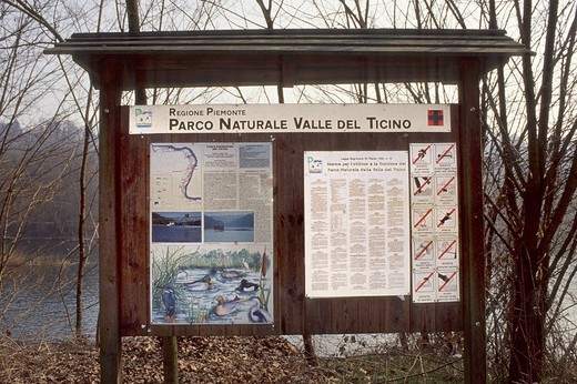 parco naturale della valle del ticino, piedmont, italy : Stock Photo