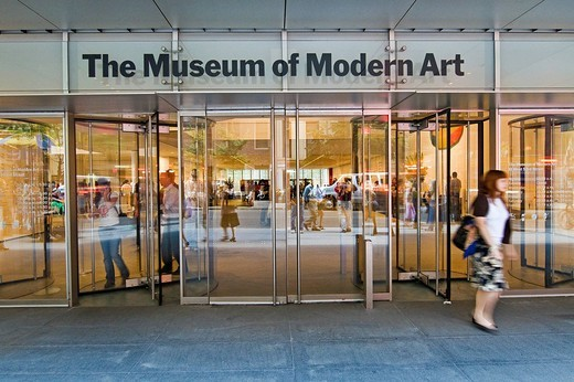 Stock Photo: 3153-684151 the museum of modern art, MoMA, new york city, usa