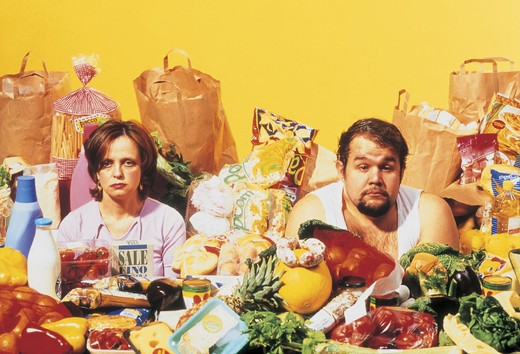 Stock Photo: 3153-684300 couple, shopping