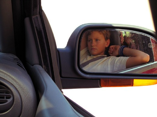 Stock Photo: 3153-686911 rear-vision mirror