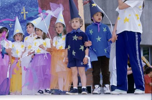 children, school play : Stock Photo