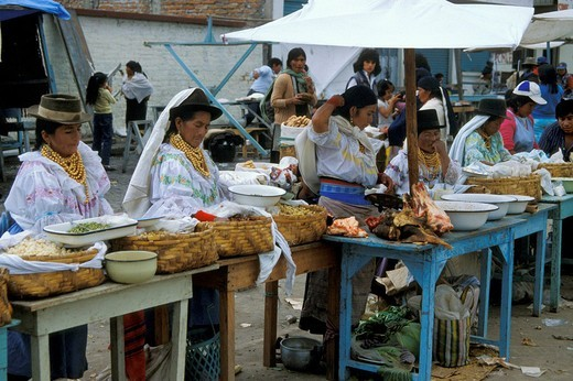 ecuador, quito, market : Stock Photo