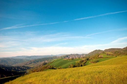 valle dell´idice, emilia romagna, italia : Stock Photo