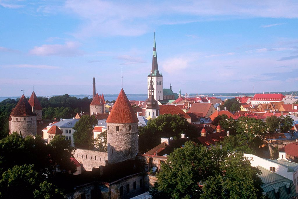 Stock Photo: 3153-693115 europe, estonia, tallinn