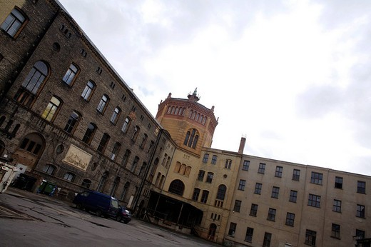 Stock Photo: 3153-693541 germany, berlin, former jewish hospital, gestapo used this place to detain prisoners before moving them to concentration camps