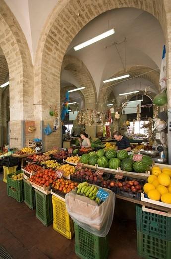 Stock Photo: 3153-696029 market, bari, apulia, italy