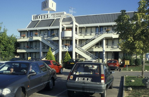 Stock Photo: 3153-696420 premiere classe hotel, agen, france