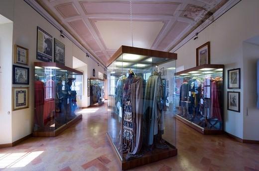 Stock Photo: 3153-697354 europe, italy, marche, recanati, town hall, museo civico beniamino gigli