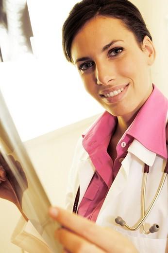 Stock Photo: 3153-697414 woman doctor