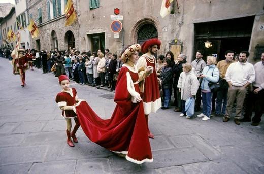 Stock Photo: 3153-698013 sagra del tordo, montalcino, tuscany, italy