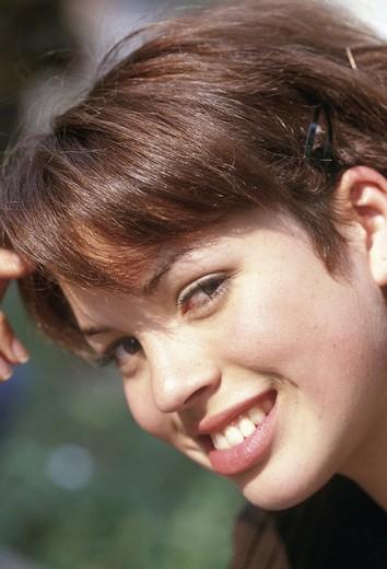 teenage girl, portrait : Stock Photo