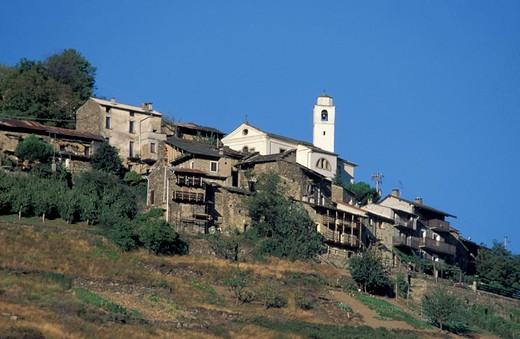 Stock Photo: 3153-699110 baruffini village, tirano, italy