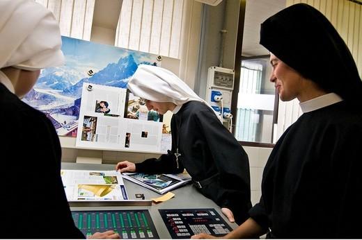 Stock Photo: 3153-699822 nuns loretane, pessano con bornago, lombardy, italy