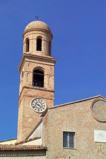 church, orciano di pesaro, marche, italy : Stock Photo