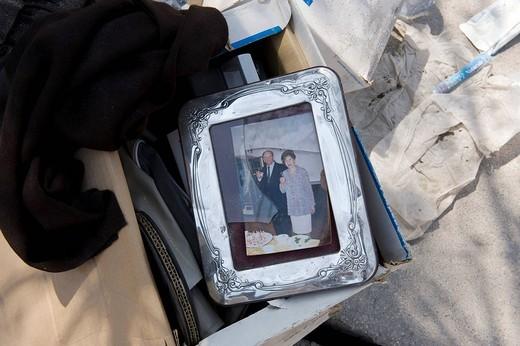 Stock Photo: 3153-699921 earthquake 2009 aprile, l´aquila, abruzzo, italy