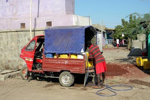 dancalia, afar, etiopia : Stock Photo