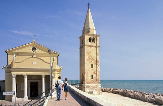 madonna dell´angelo sanctuary, caorle, italy : Stock Photo