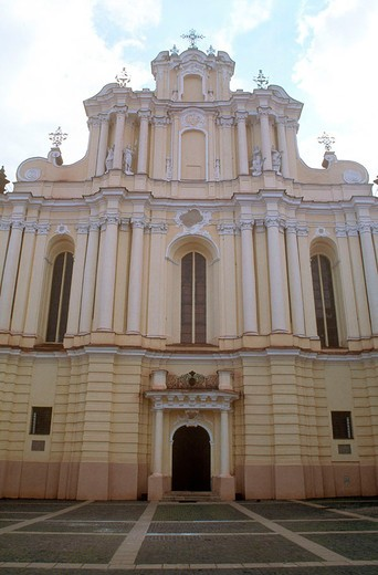 europe, lithuania, vilnius, saint john church : Stock Photo
