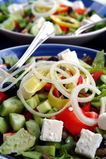 Stock Photo: 3153-702660 europe, cyprus, salad