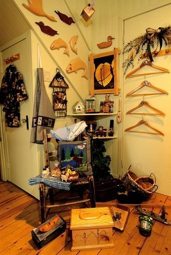 Stock Photo: 3153-703371 handcraft, porquoi pas, st alexis des monts, canada