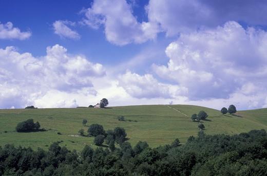 azzarino landscape, velo veronese, italy : Stock Photo
