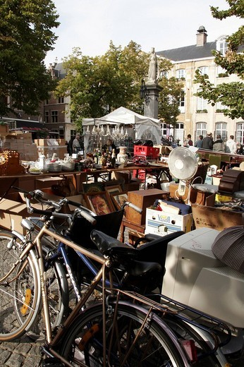 market, anversa, belgio : Stock Photo