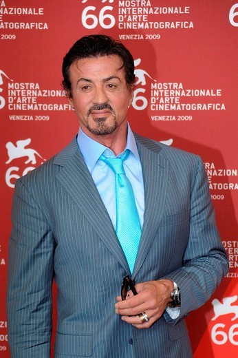 Stock Photo: 3153-705844 sylvester stallone