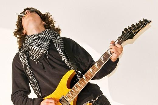 guitarist : Stock Photo