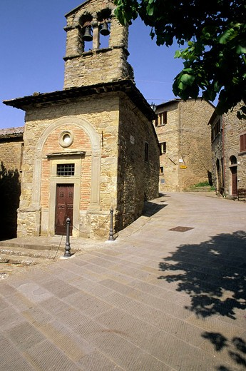 europe, italy, cortona, st cristoforo church : Stock Photo