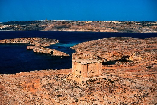 europe, malta, comino, blue lagoon : Stock Photo