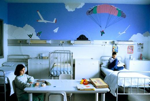 medicine, children, hospital : Stock Photo