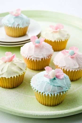 Stock Photo: 3153-713616 cupcakes muffins