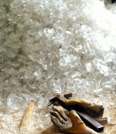 glass working, livellara (mi) : Stock Photo
