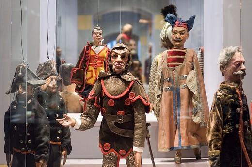 europe, italy, emilia romagna, parma, castello dei burattini, museo giordano ferrari : Stock Photo