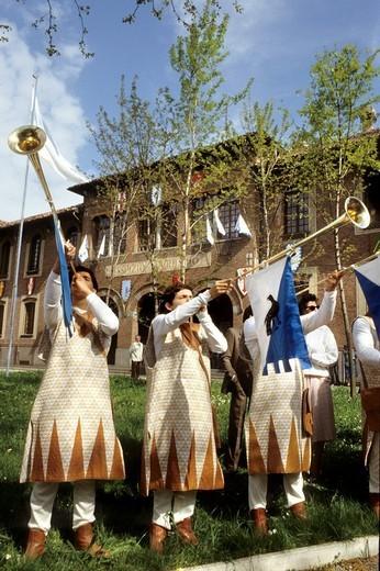 Stock Photo: 3153-714982 sagra del carroccio, legnano, lombardia, italy