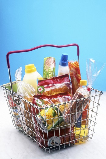 Stock Photo: 3153-715770 food, baskets