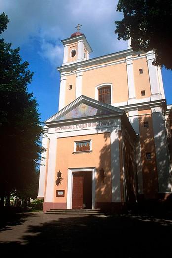 europe, lithuania, vilnius, orthodox church : Stock Photo
