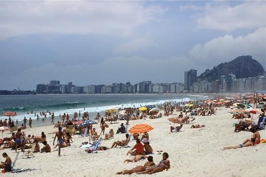 Stock Photo: 3153-720078 brazil, rio de janeiro, beach