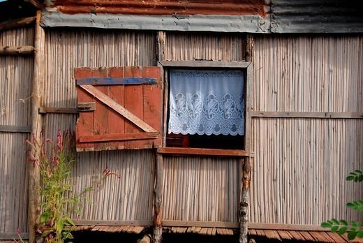 hut, nosy be, madagascar, africa : Stock Photo