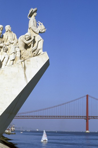 Stock Photo: 3153-721953 padrao dos descobrimentos, lisbon, portugal