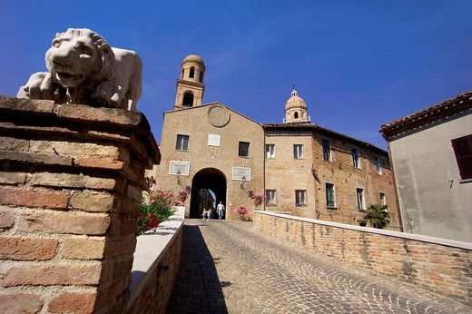 Stock Photo: 3153-722814 europe, italy, marche, orciano di pesaro