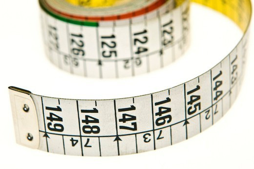 tape measures : Stock Photo