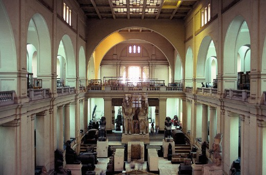 Stock Photo: 3153-723571 africa, egypt, cairo, archaeological museum