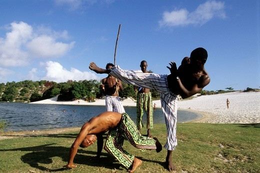 Stock Photo: 3153-727077 capoeira, salvador de bahia, brazil