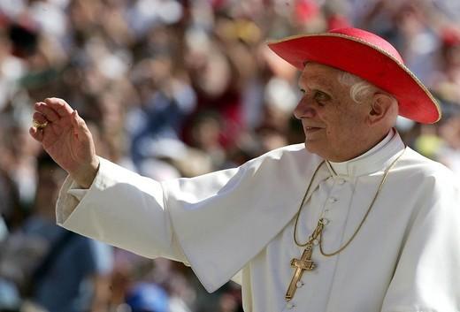 Stock Photo: 3153-728340 pope benedict XVI